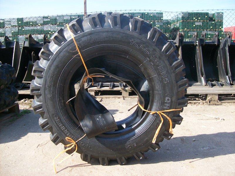 Zaawansowane Opony przemysłowe do koparko-ładowarek i maszyn rolniczych – ZAMA YJ41